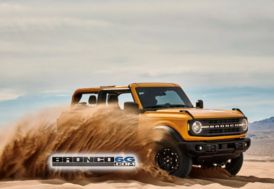A first look at the allnew Bronco... in 2020 Ford