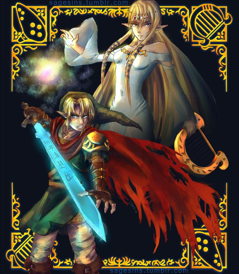 Ready For Battle | First Hero Link & Princess Hylia by
