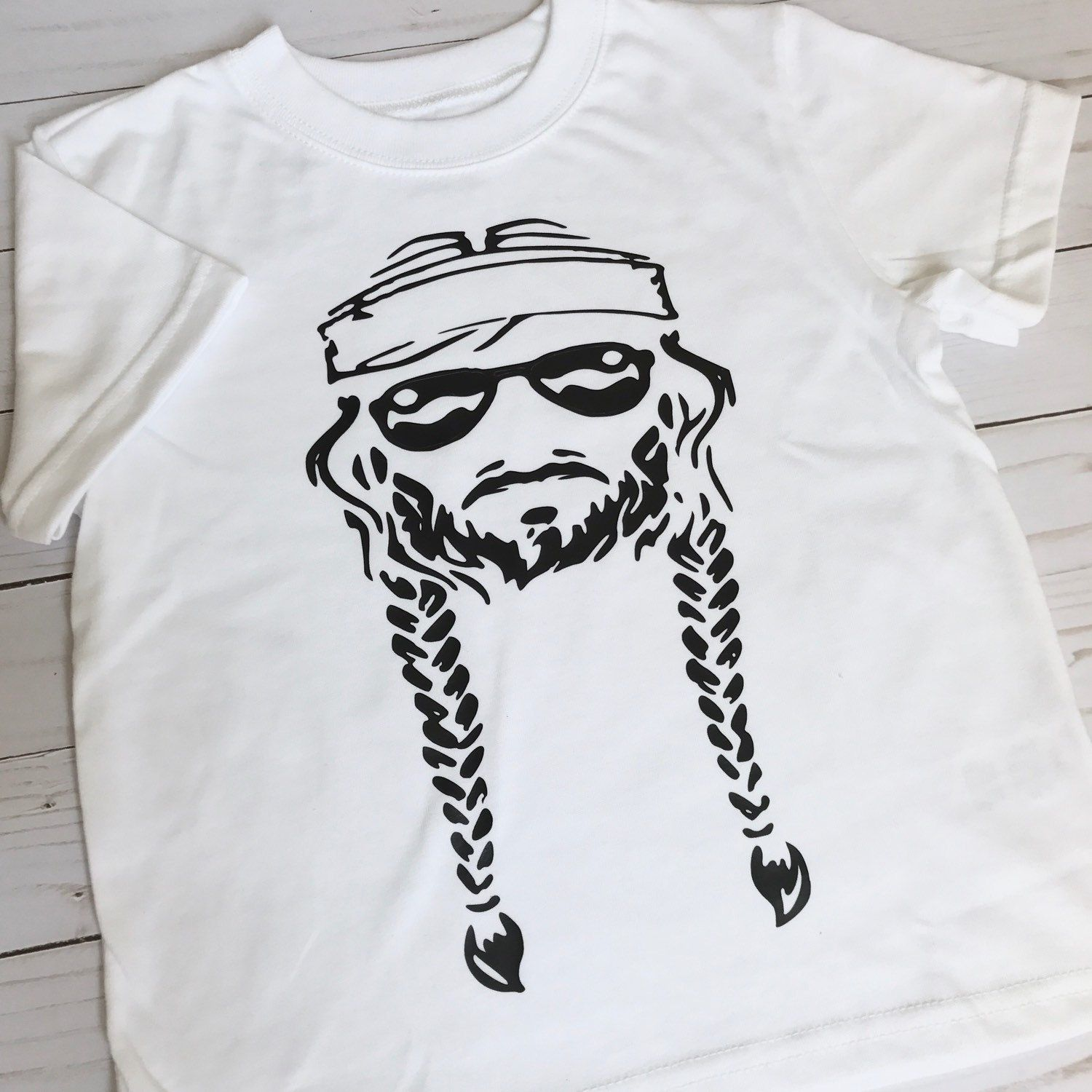3d1936e03 Willie Nelson toddler tee Updates from RaisingWild on Etsy Kids Shirts,  Shirts For Girls,