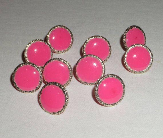 Cork Memory Board 10 pink thumb tacks Decorative push pin Office School Decor