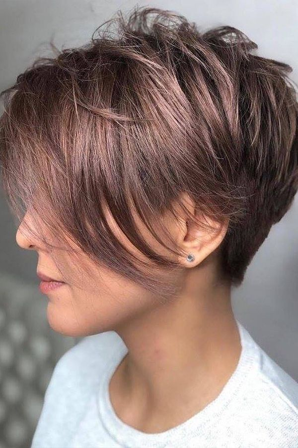 Ways To Get A Pixie Haircut No Matter Your Face Shape #shortpixiehaircuts