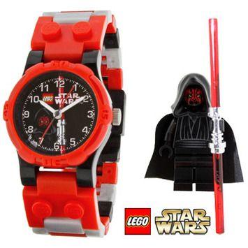 Lego Star Wars Darth Maul Watch 9002953 Lego Watch Star Wars Kids Lego Star Wars
