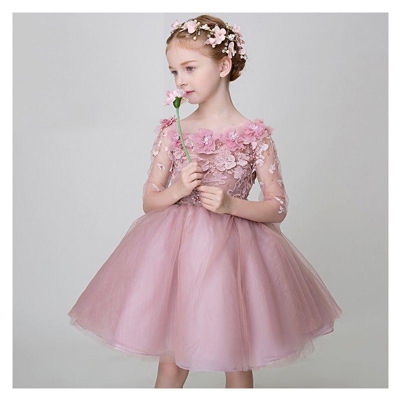 new style 06fe2 96d91 Abitino cerimonia bimba damigella 80-150cm | Платье для ...