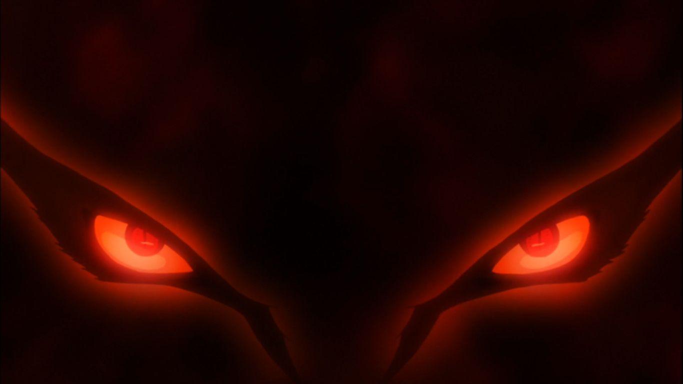 Nine Tailed Fox Kuruma Eyes Naruto Wallpaper Naruto Shippuden
