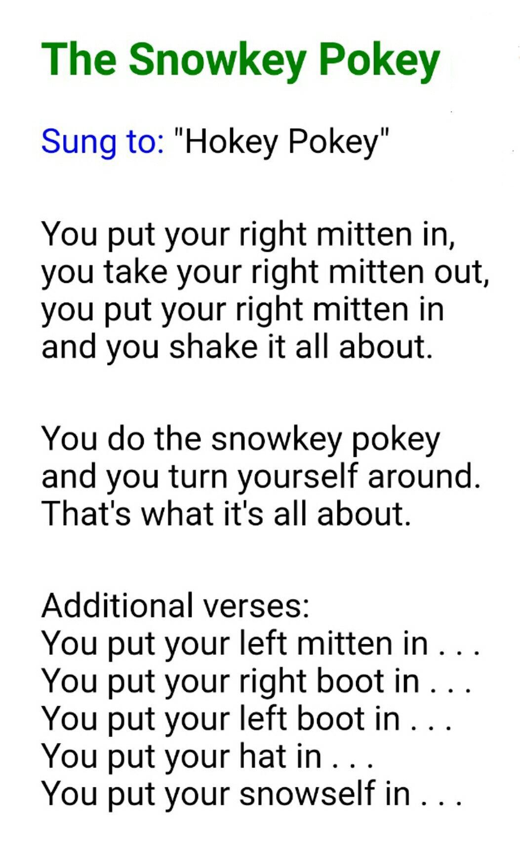 Kids With Winter Wiggles Do The Snowkey Pokey Preschool Songs