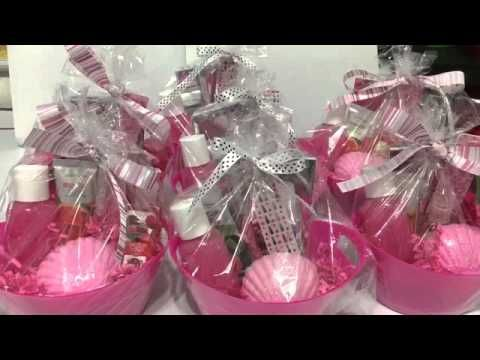 Diy Dollar Tree Spa Gift Basket For Mother S Day Valentines Birthday Any All Occasion
