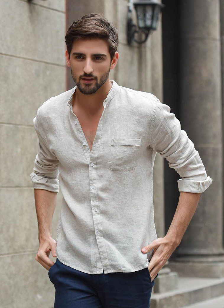 latest spring outfit ideas for handsome men neckerchiefs