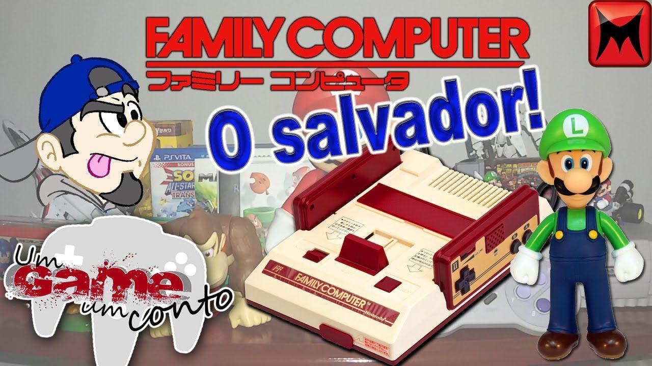 Um game, um conto (13ª Doação Famicom, o salvador da pátria)