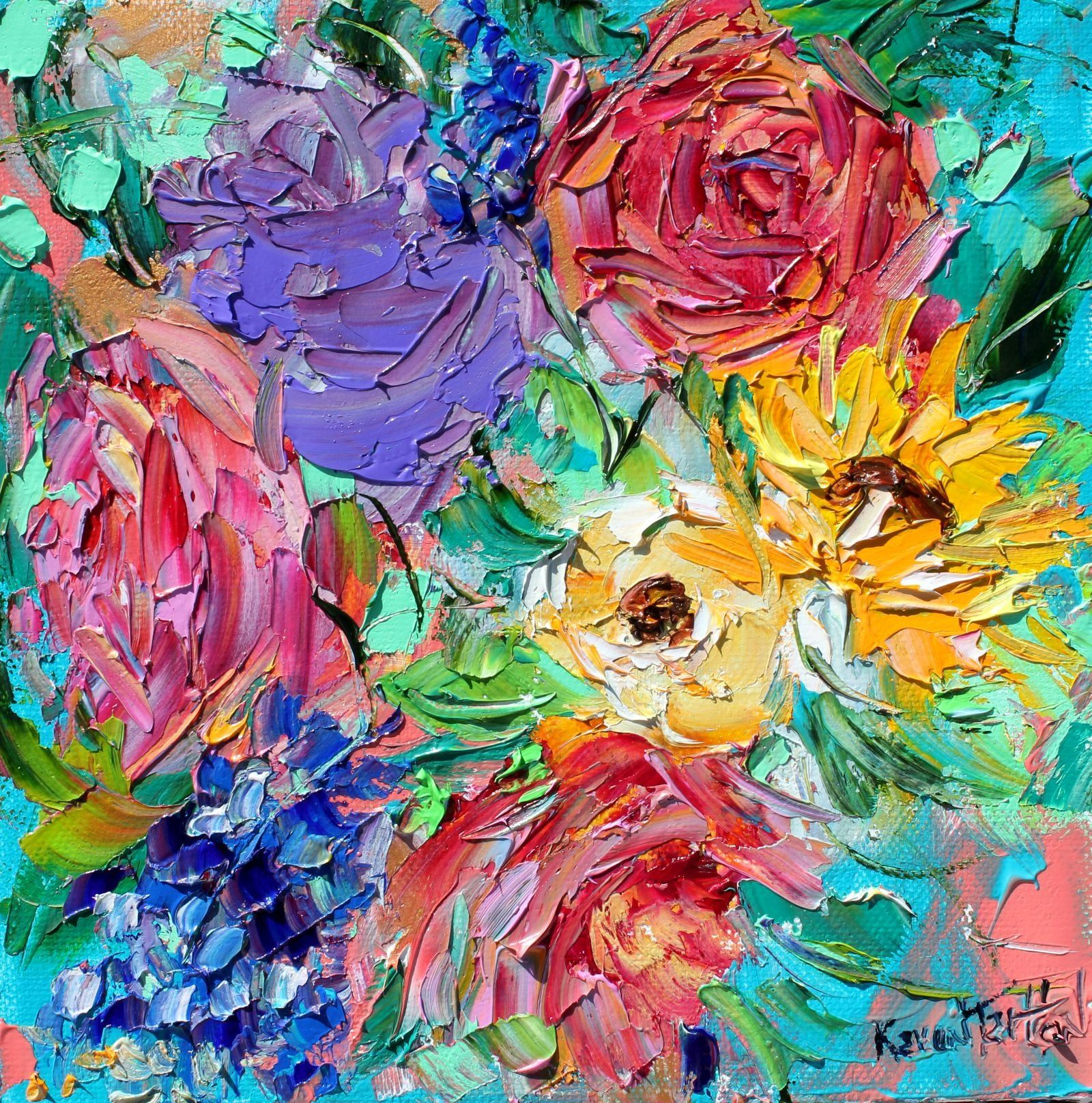 flowers painting flower