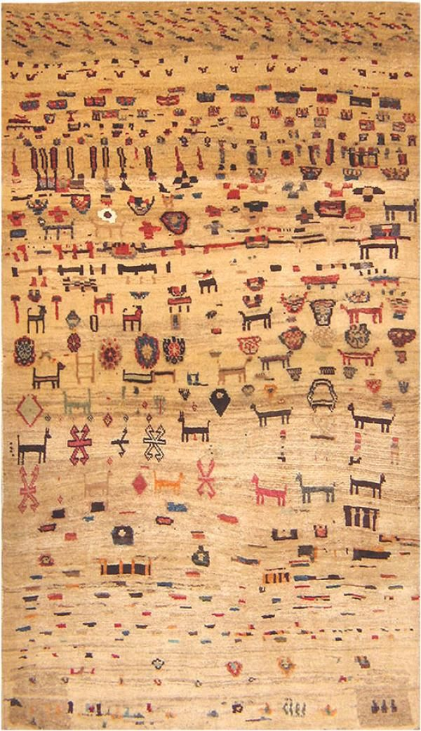 Small Persian Tribal Antique Gabbeh Rug 16506 Nazmiyal Persian Rugs Antique Persian Rug Gabbeh Rug Rugs