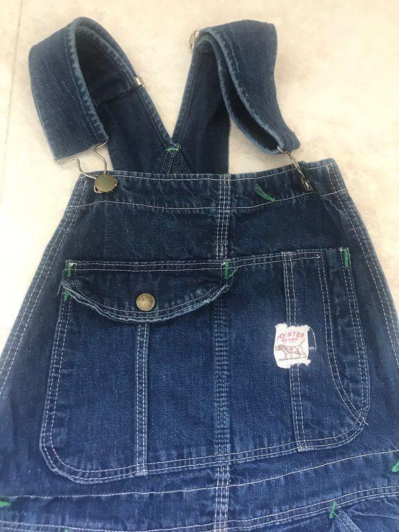 b07ea89723df Pointer jean overalls coveralls jean bibs 30 x31