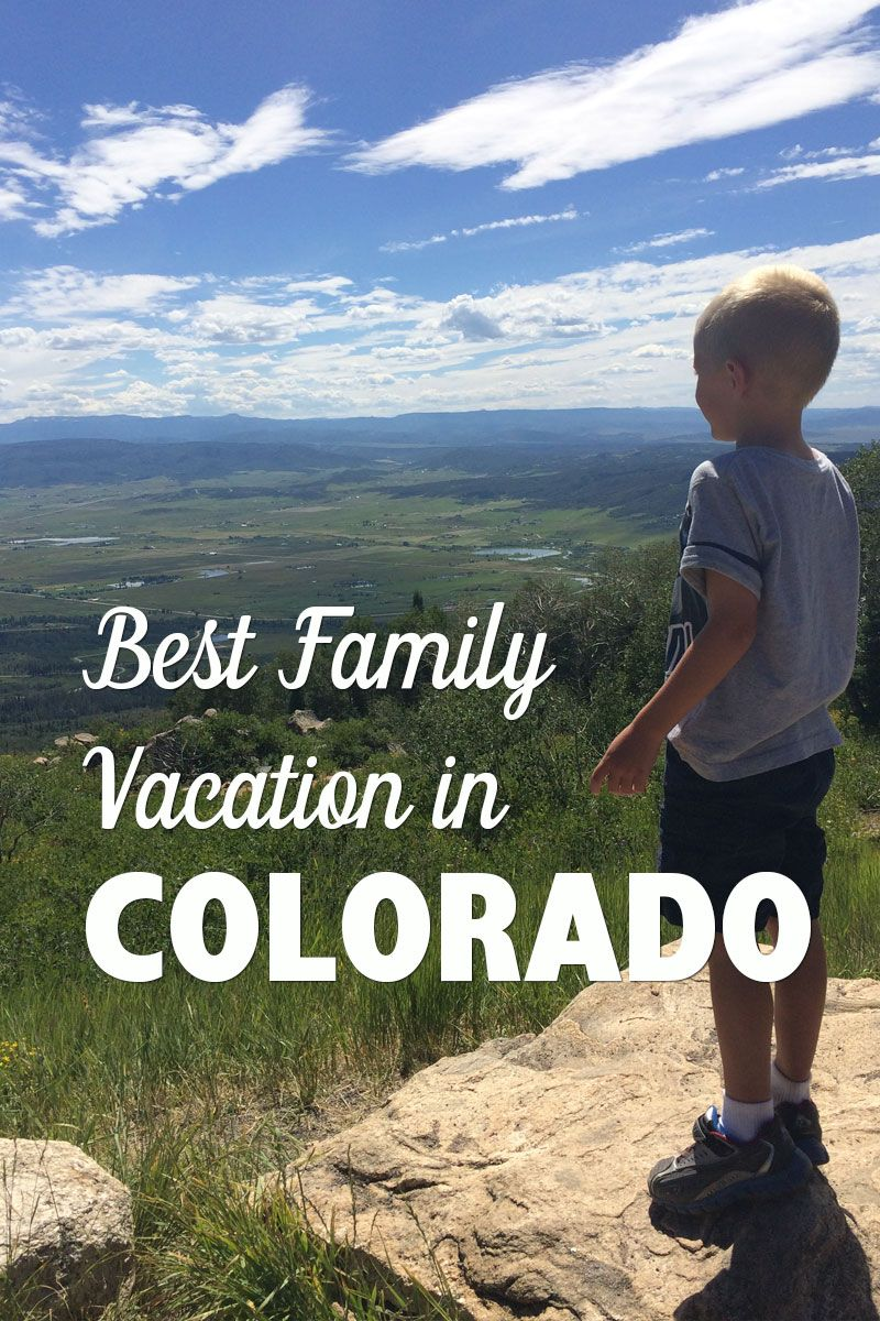 Ultimate Family Summer Vacation Spot Steamboat Springs In Colorado