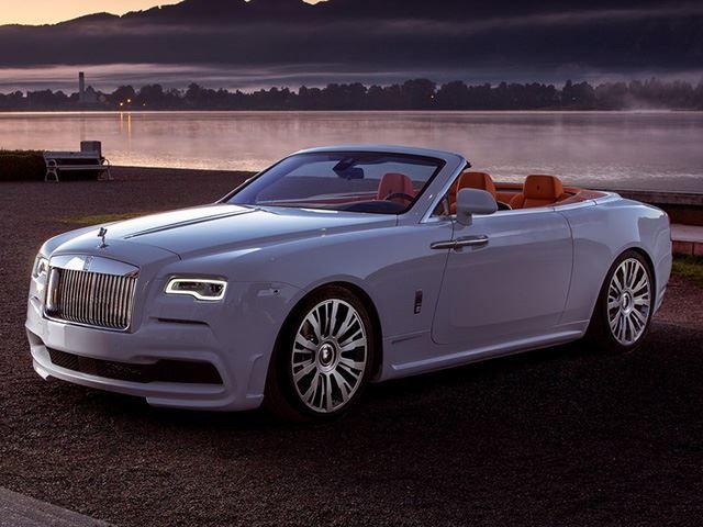 Rolls Royce Dawn Transformed Into Stunning 686 Hp Open Top Cruiser Rolls Royce Dawn Rolls Royce Rolls Royce Cars