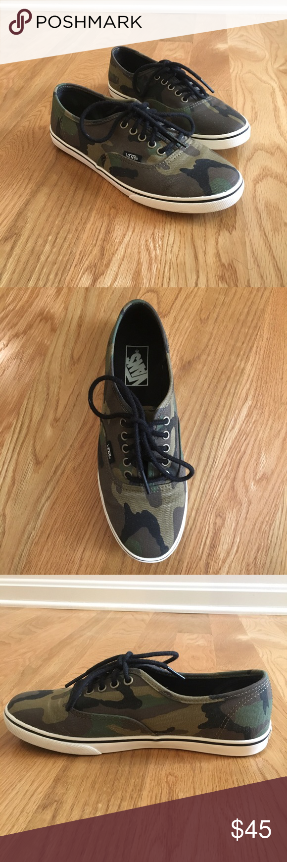 e73783e31d44 NWOT Limited edition camouflage vans Never been worn so the shoes are in  great condition. They are super cute and I have not seen many pairs of these  ...