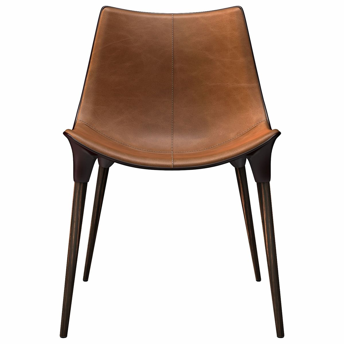 Langham Dining Chair (Leather Seat)  Dining chairs, Leather