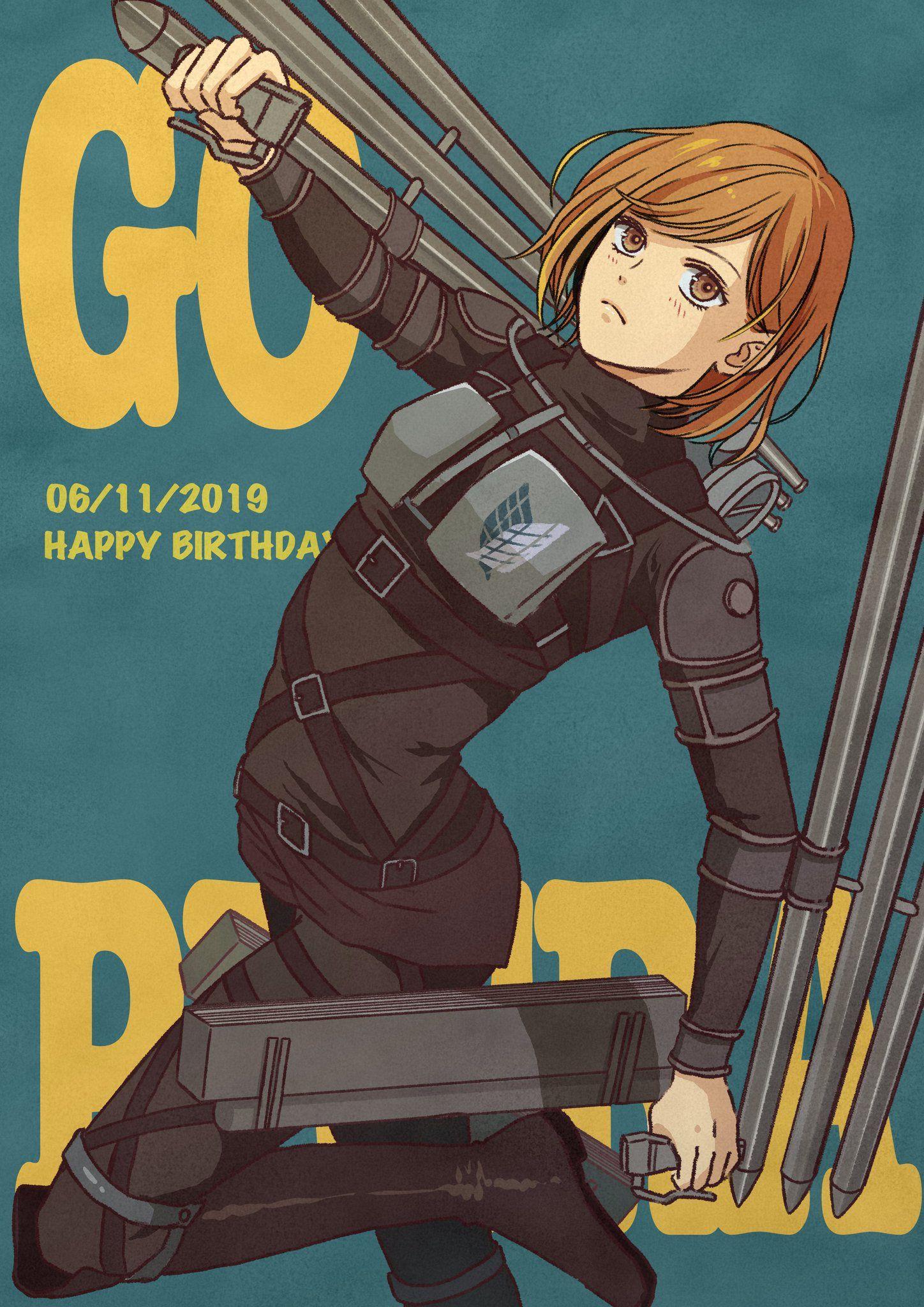 Pin auf Attack on Titan (進撃の巨人)