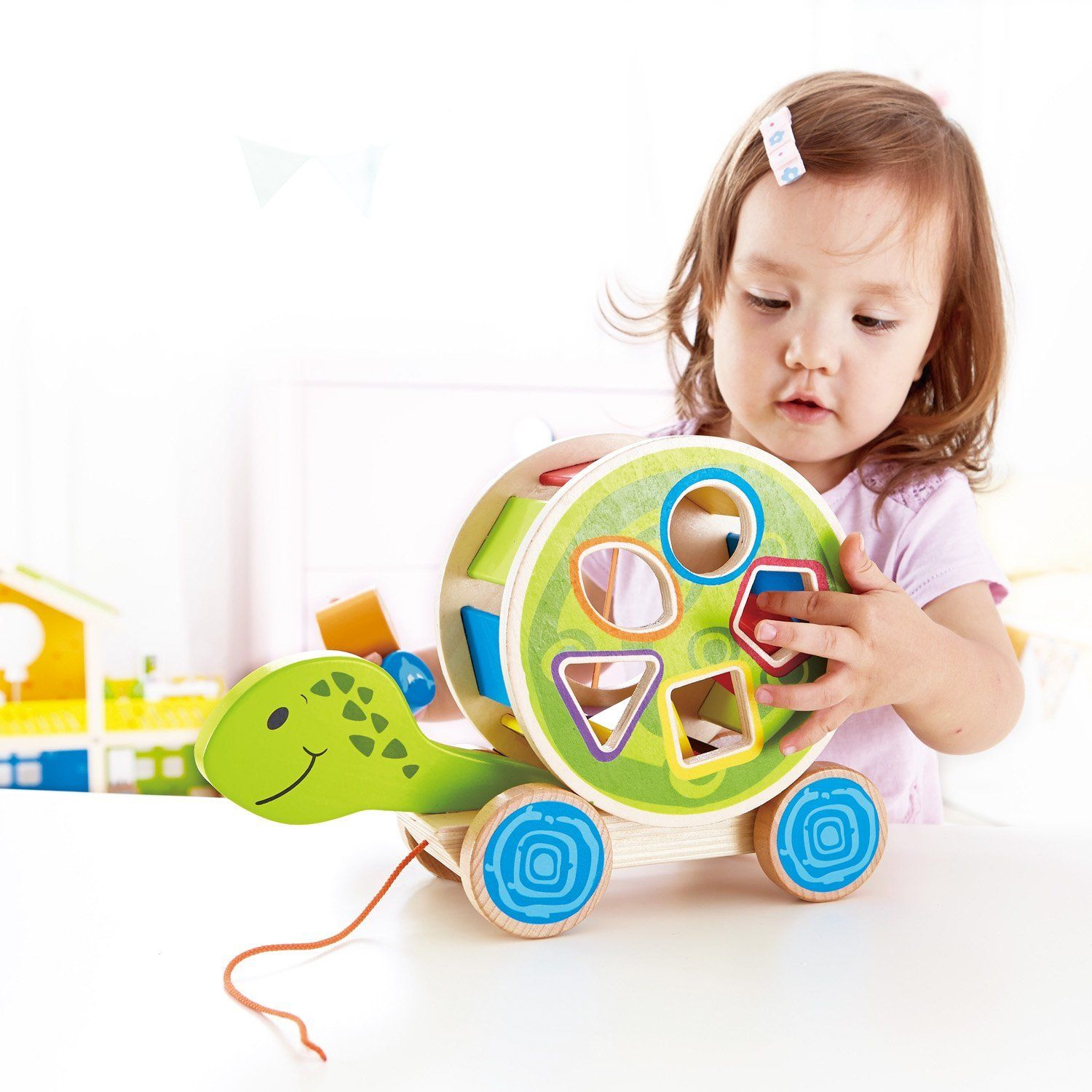 Pull Along Turtle. Make playtime fun and educational with ...