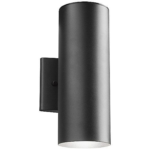 Exterior Garage Downlights: LED 11251 Up And Downlight Outdoor Wall Sconce