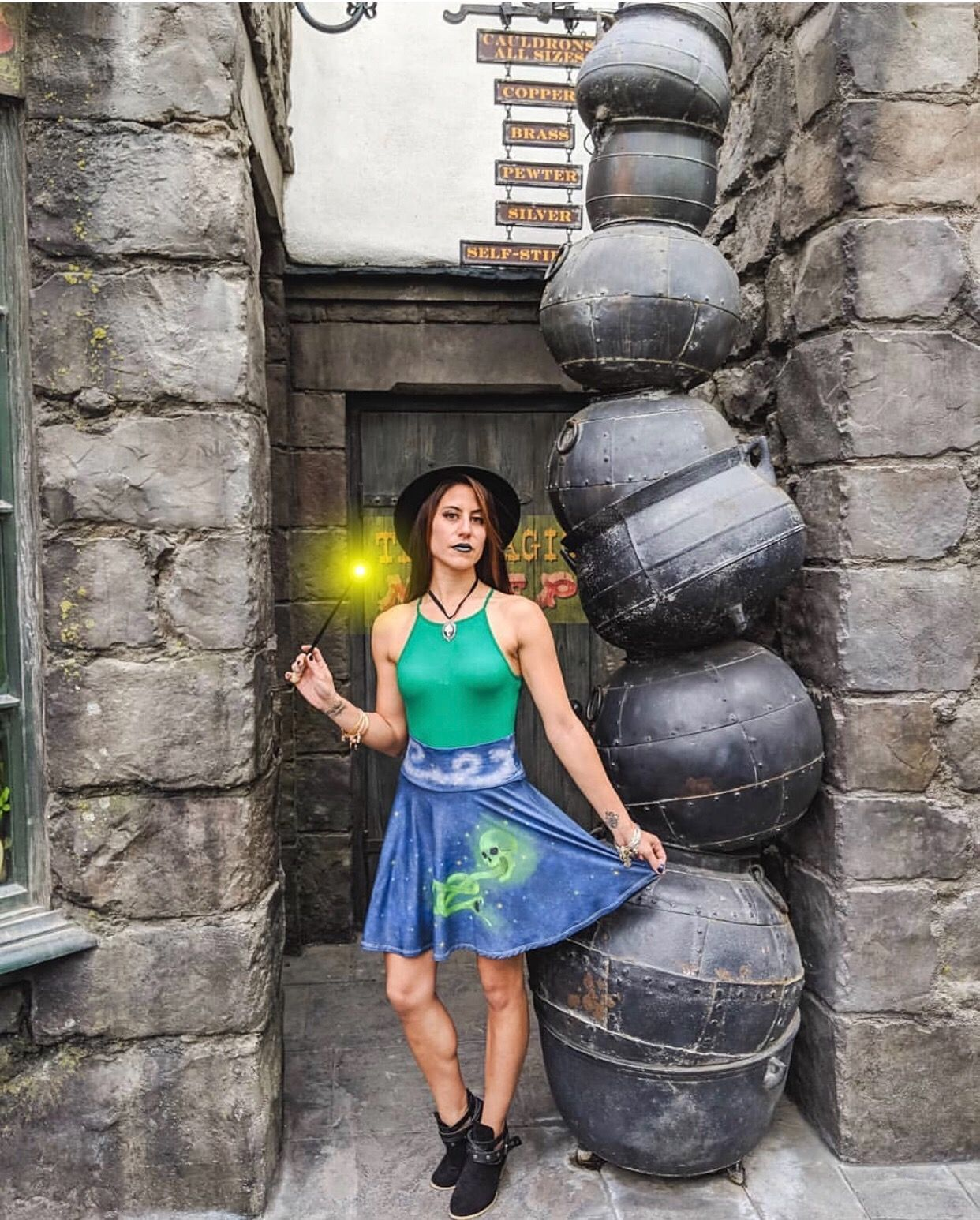 8623b216c6 12 Harry Potter Outfits for the Wizarding World of Harry Potter – Fandom  Fashionista