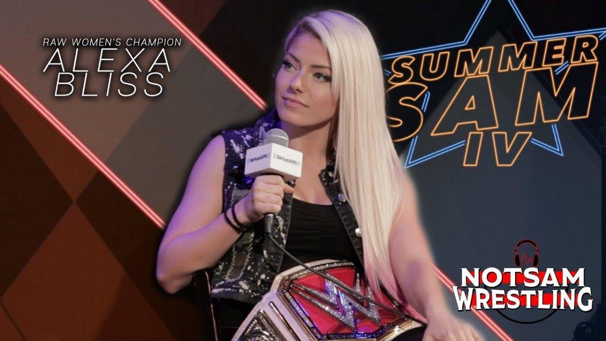 Alexa Bliss – Ronda Rousey reaction, WWE Tryout Joke, NXT