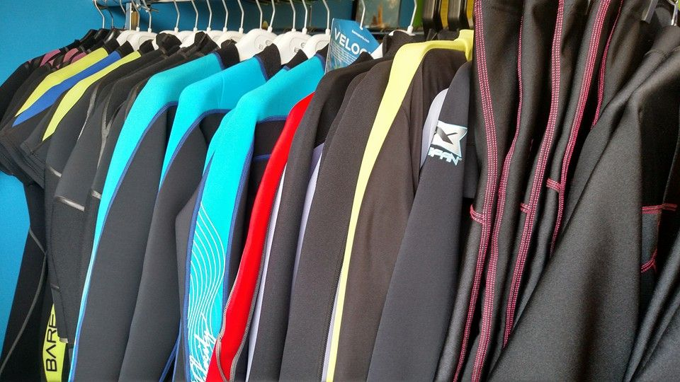 3,5,7 mm wetsuits for your diving pleasure.