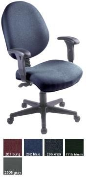 Ofm 242 24 Hour Computer Multi Shift Adjustable Task Chair