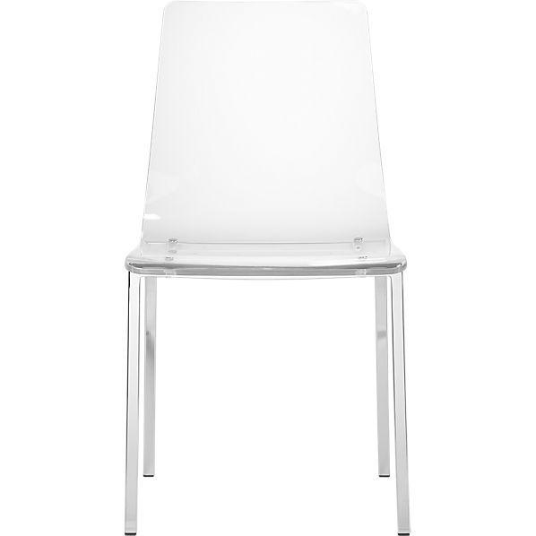 Delicieux Vapor Acrylic Chair