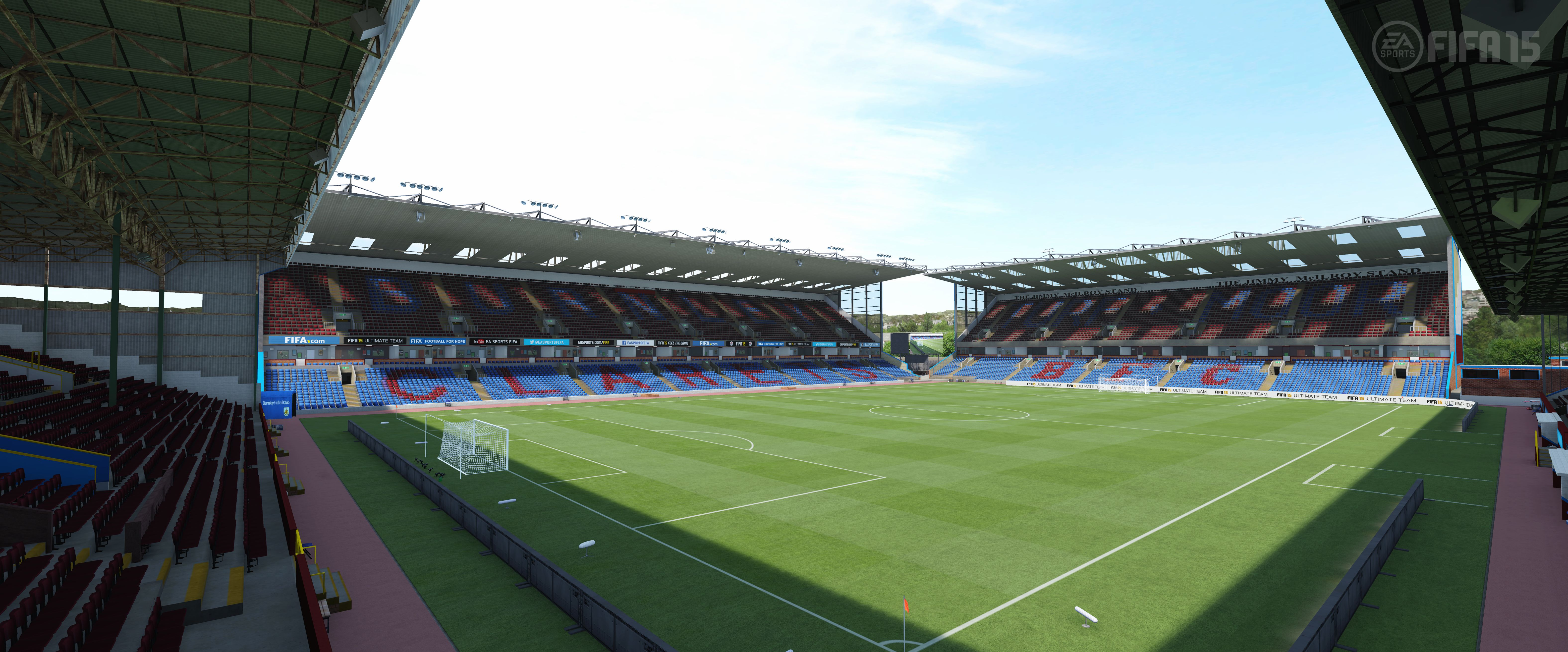 Turf Moor - FIFA 15 By EA Sports