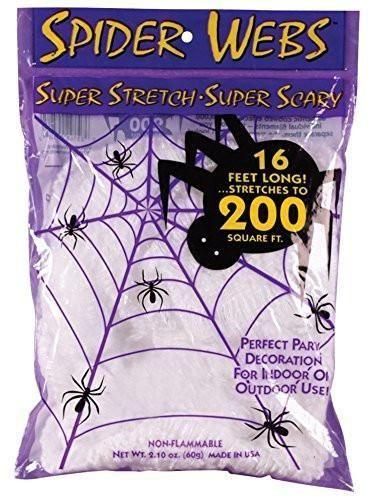 Super Stretch Spider Web - 16 Foot Halloween Pinterest