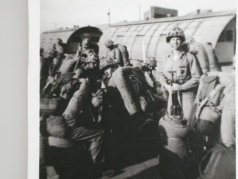 Mobilization of the Marine Corps Reserve in the Korean Conflict