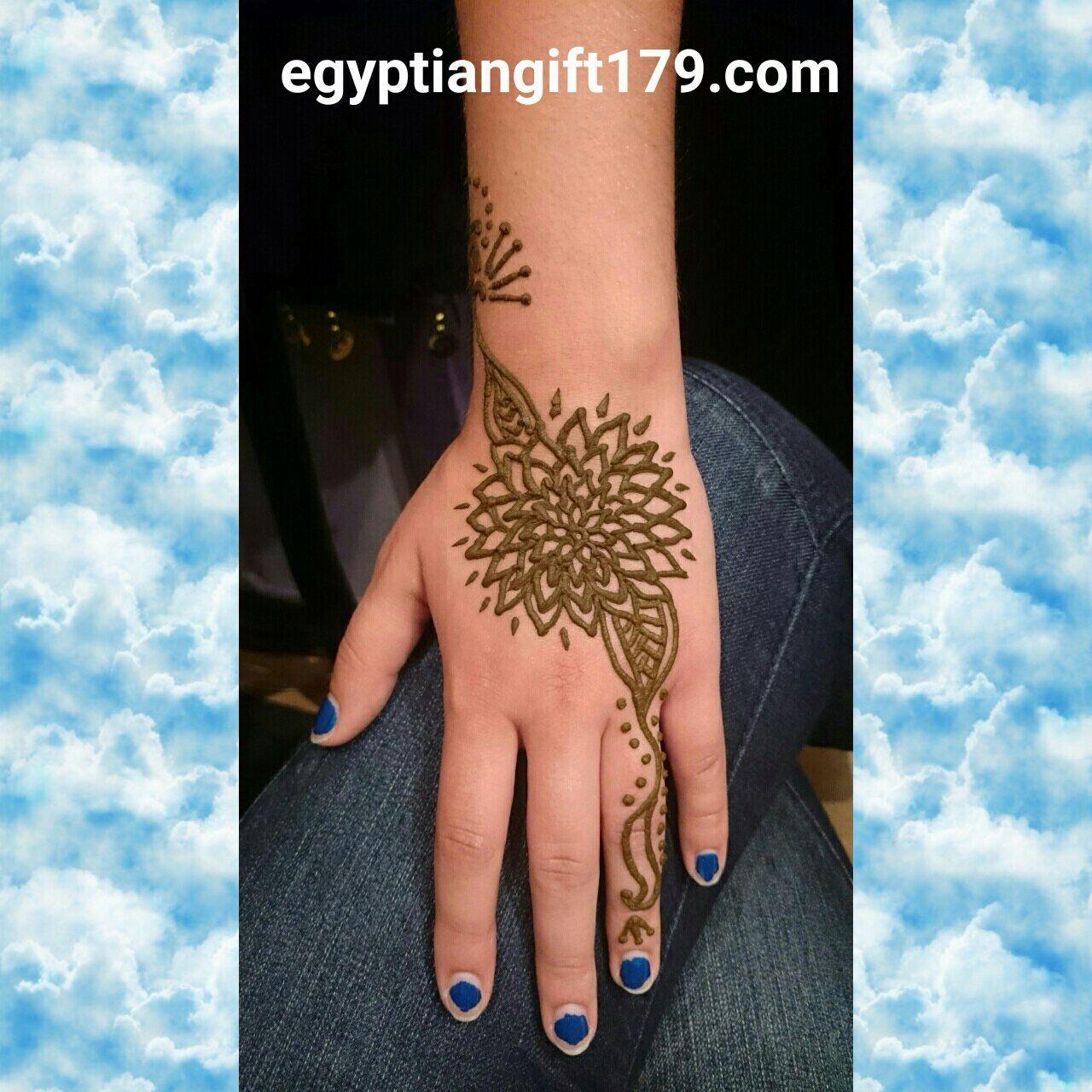 Egyptian gift corner henna shop henna kit airbrush tattoo