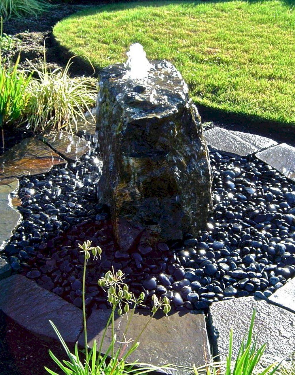 Pondless Water Features 95 Beauty And Fresh Front Yard Rock