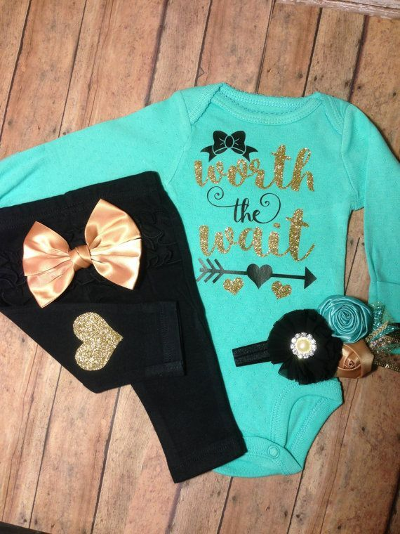 Baby Girl coming home outfit clothes take home by SweetnSparkly. baby  girl  coming home outfit  baby girl outfit  outfit  take