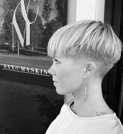 Undercut Pixie Hairstyle for Badass Woman #pixiehairstyles
