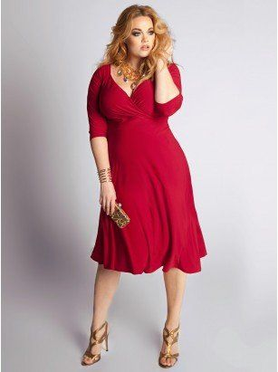 1952685d248 Plus Size Cocktail Dresses For The Important Moments Of Your Life by IGIGI