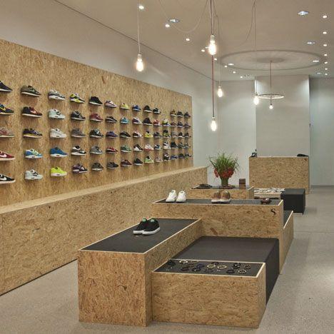suppa sneaker boutique by daniele luciano ferrazzano retail design pinterest retail shop. Black Bedroom Furniture Sets. Home Design Ideas