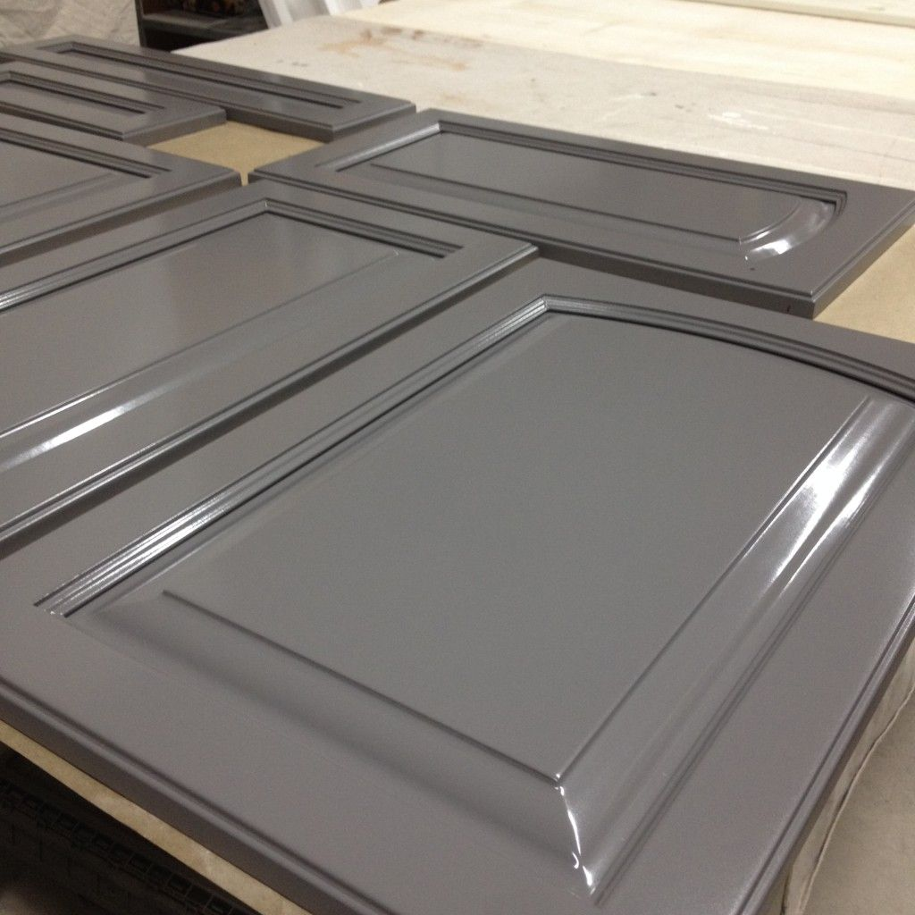 Spray Painted Kitchen Cabinets Done In Ben Moore Overcoat Cc554