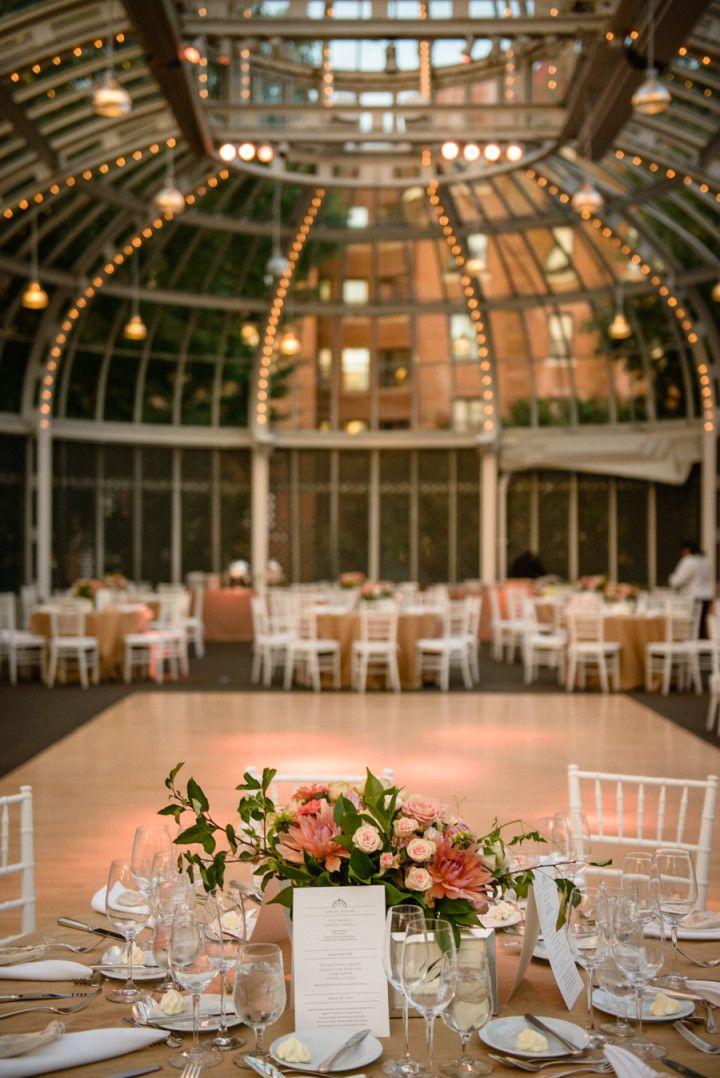 Botanical Garden Style Brooklyn Wedding Wedding Decor Styling