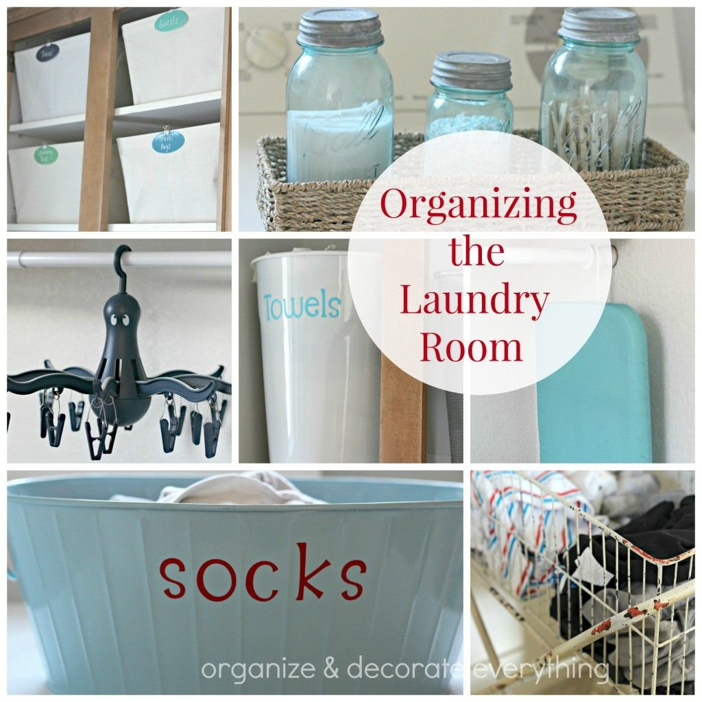 Organizing the Laundry Room | Top Organizing Bloggers ...