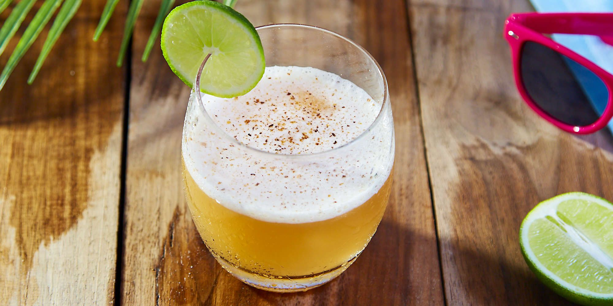 Zack's Daq Recipe Pineapple rum, Fresh lime juice, Rum