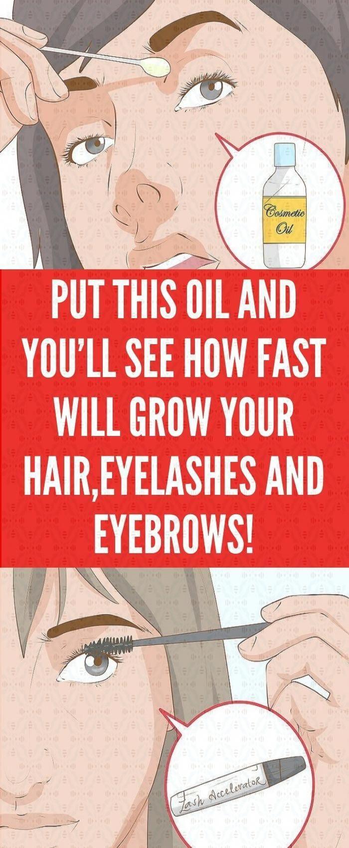 Grow your eyelashes & eyebrows in just 3 days ! Eyelash ...