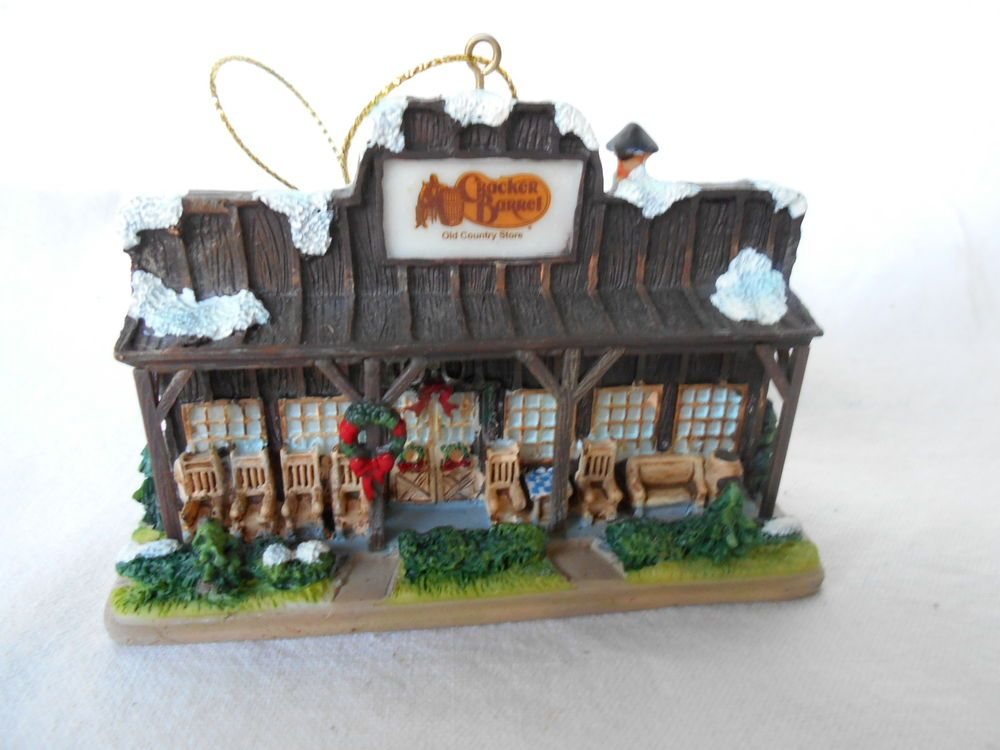 Cracker Barrel Old Country Store Christmas Tree Ornament ...