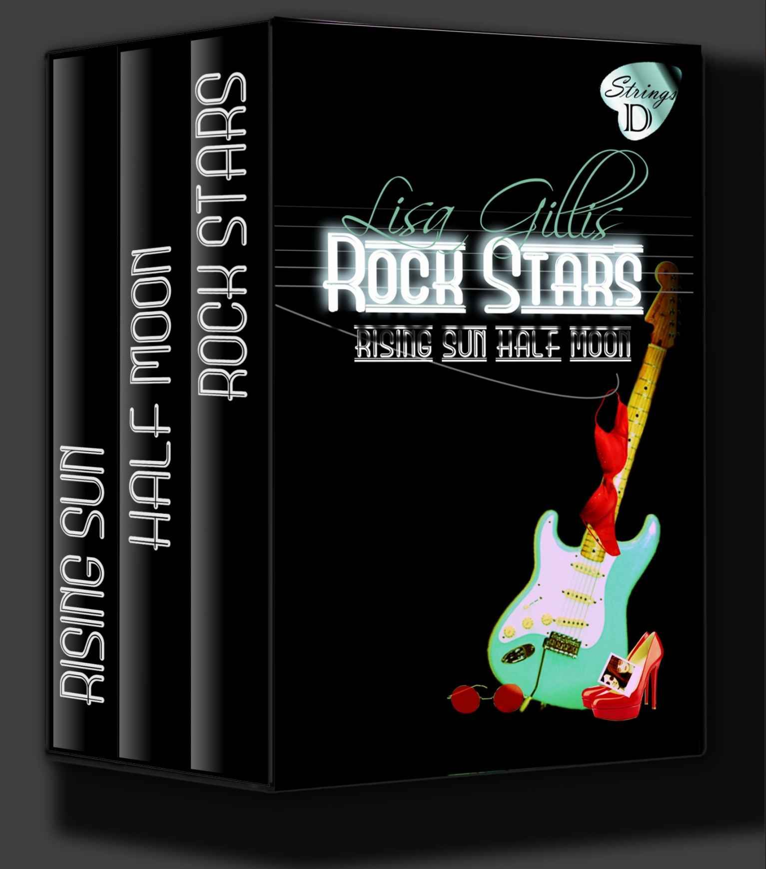 Amazon: Rising Sun, Half Moon, Rock Stars: Dstrings