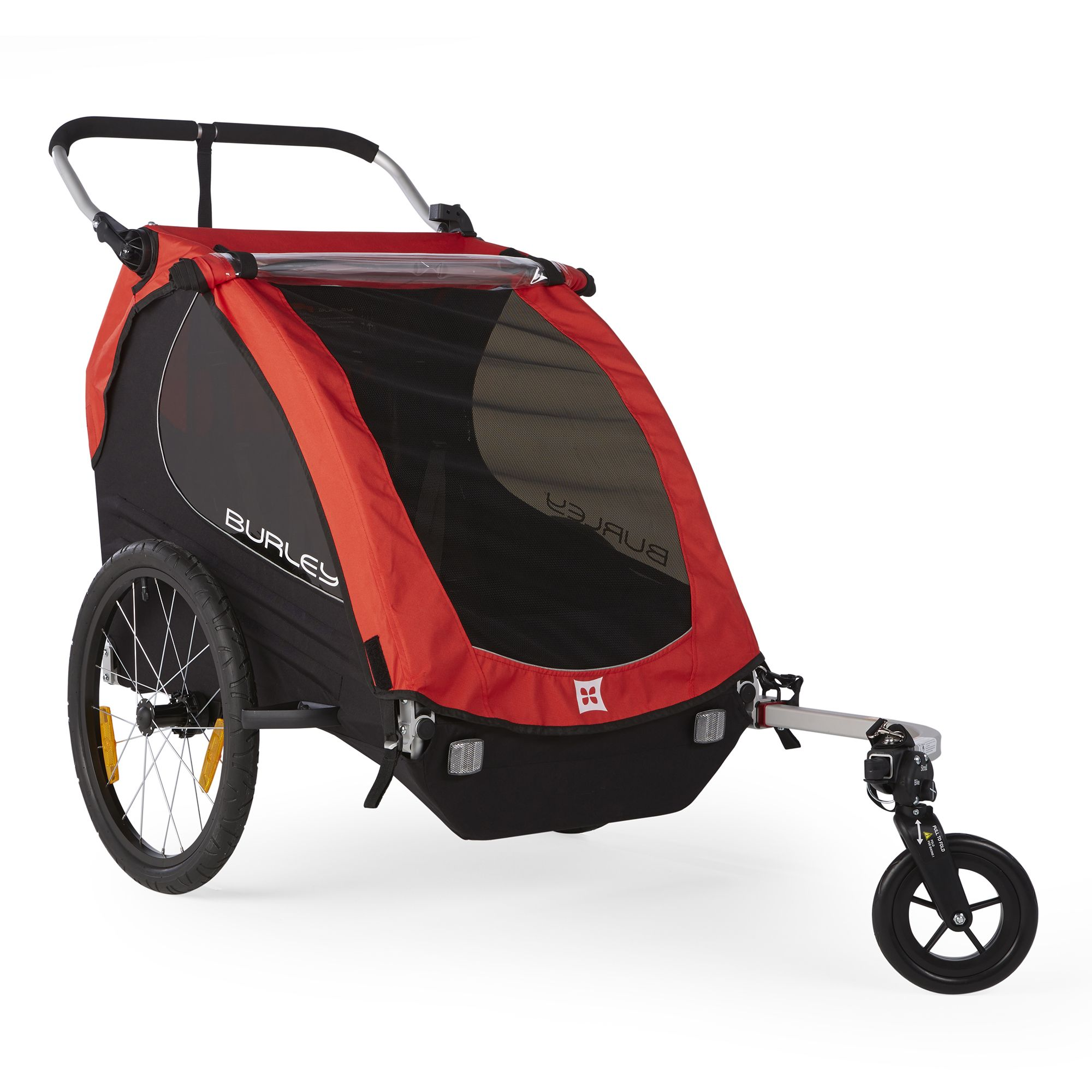 Honey Bee Kids Bike Trailer and Double Stroller in 2020