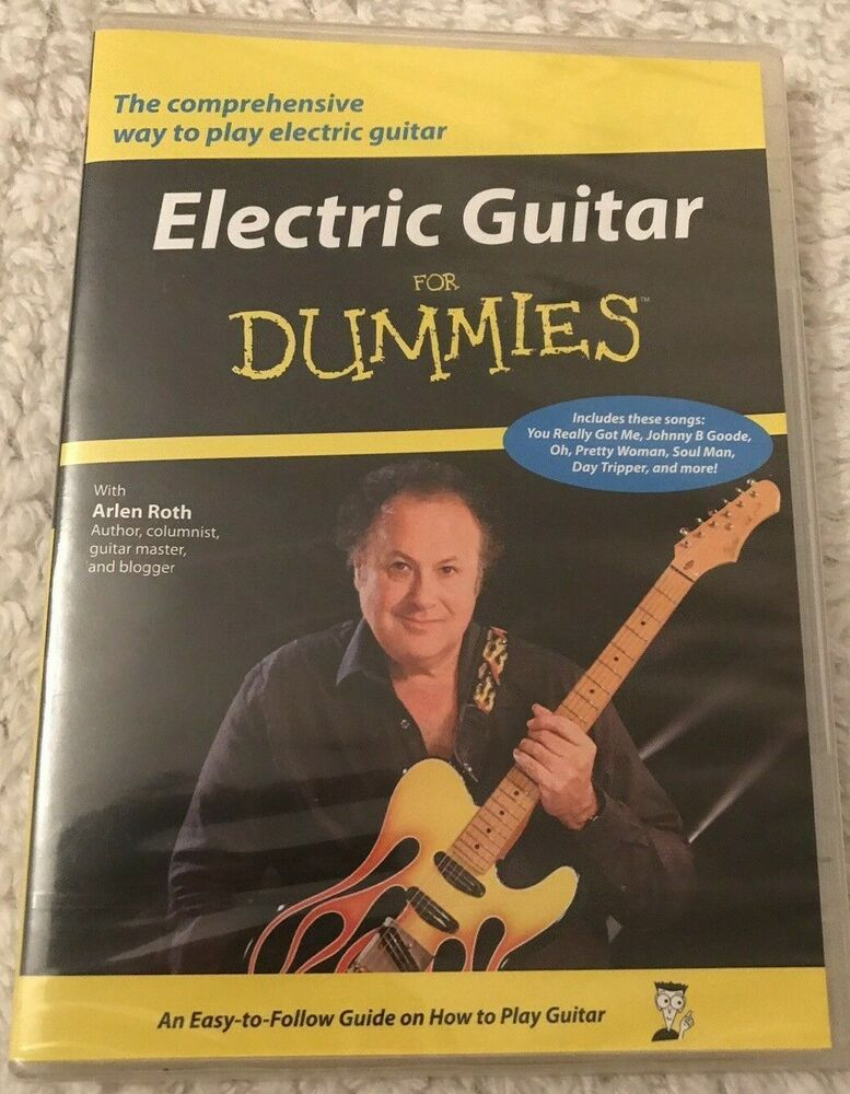 Only £14.99 & Free Delivery!! Electric Guitar For Dummies