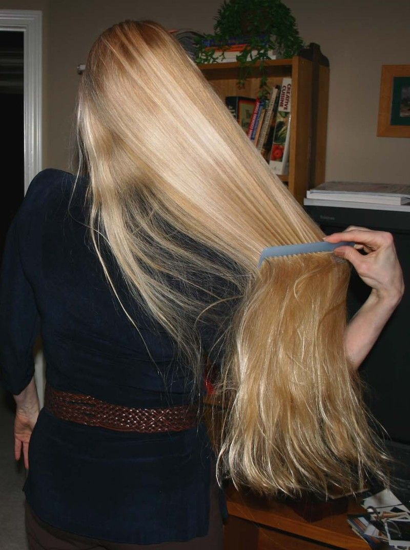 Long Beautiful Blonde Hair Fixation Hair Long