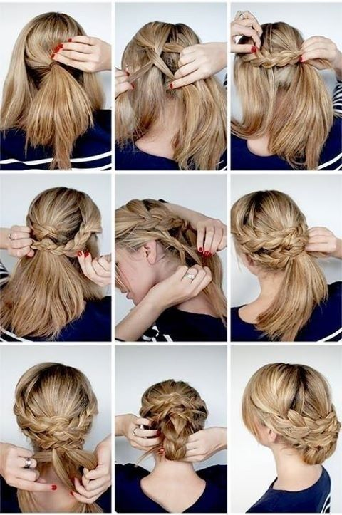 Wedding Hairstyles Tutorial: Great Elegant Braided Updo Ideas for Bridal