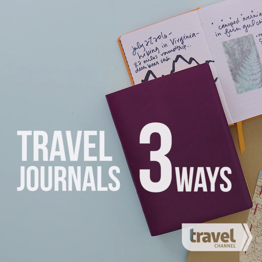 3 Ways to Make a Customized Travel Journal