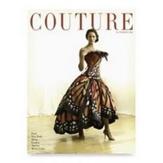 Absolutely stunning Monarch Butterfly Dress by Luly Yang has even graced the cover of Couture magazine.