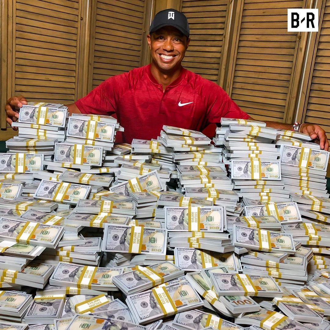 """B/R Betting on Instagram: """"Tiger's 2019 Masters win ..."""